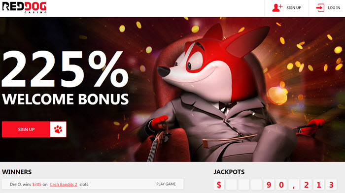 Red Dog Casino Online Bonus Codes No Deposit